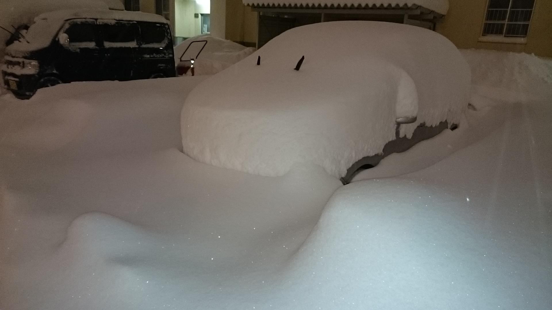 50年ぶりの12月の積雪(札幌)