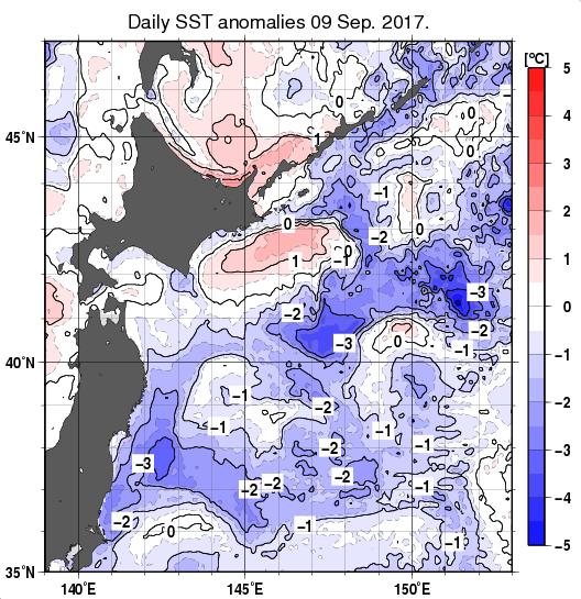 海面水温20170909